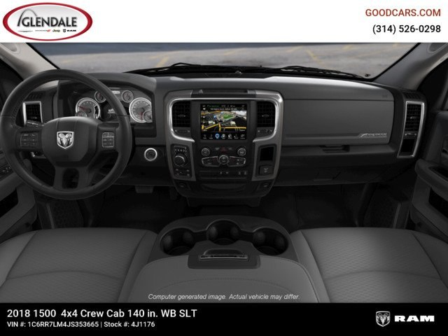 2018 Ram 1500 Crew Cab 4x4,  Pickup #4J1176 - photo 14