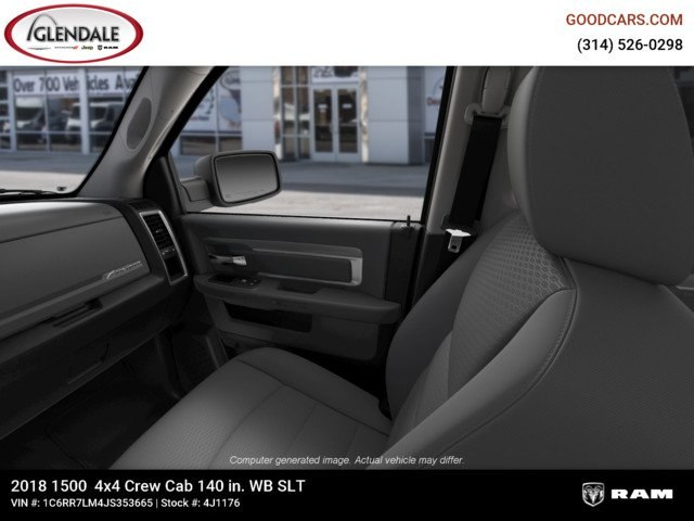 2018 Ram 1500 Crew Cab 4x4,  Pickup #4J1176 - photo 17