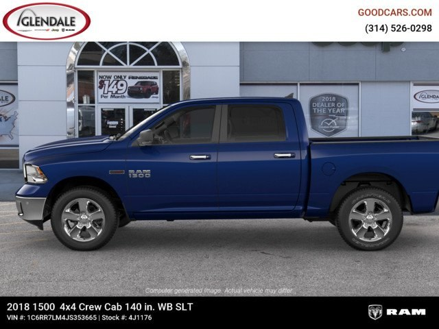 2018 Ram 1500 Crew Cab 4x4,  Pickup #4J1176 - photo 5