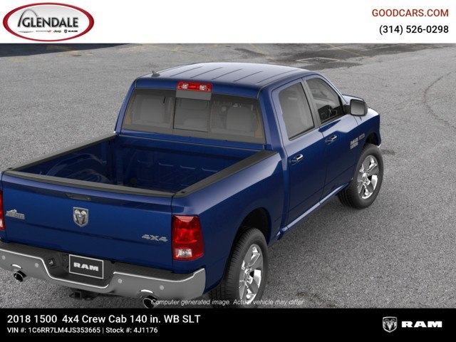2018 Ram 1500 Crew Cab 4x4,  Pickup #4J1176 - photo 8