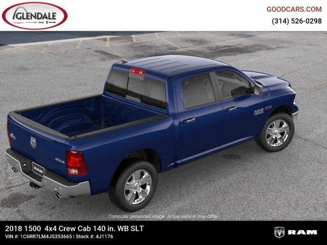 2018 Ram 1500 Crew Cab 4x4,  Pickup #4J1176 - photo 9