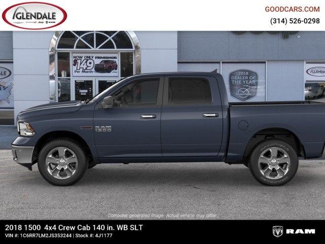 2018 Ram 1500 Crew Cab 4x4,  Pickup #4J1177 - photo 5