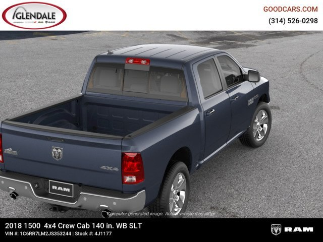 2018 Ram 1500 Crew Cab 4x4,  Pickup #4J1177 - photo 8
