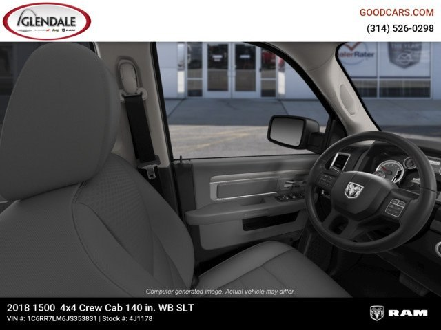 2018 Ram 1500 Crew Cab 4x4,  Pickup #4J1178 - photo 16