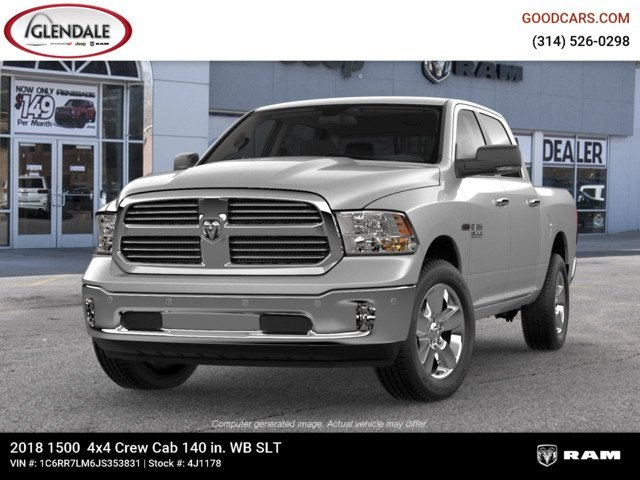 2018 Ram 1500 Crew Cab 4x4,  Pickup #4J1178 - photo 4
