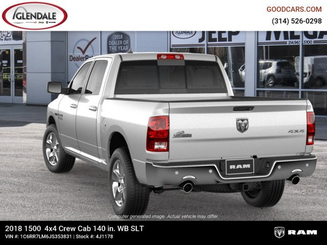 2018 Ram 1500 Crew Cab 4x4,  Pickup #4J1178 - photo 6