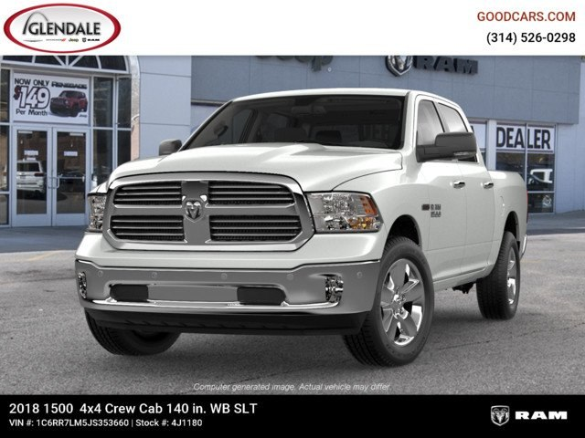 2018 Ram 1500 Crew Cab 4x4,  Pickup #4J1180 - photo 4
