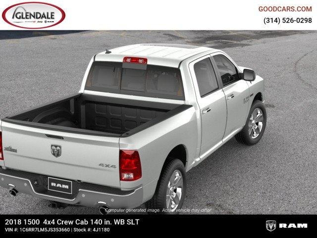 2018 Ram 1500 Crew Cab 4x4,  Pickup #4J1180 - photo 8