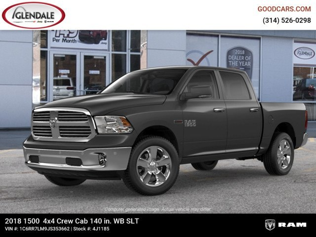 2018 Ram 1500 Crew Cab 4x4,  Pickup #4J1185 - photo 1