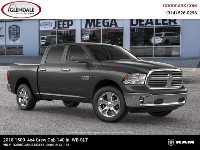 2018 Ram 1500 Crew Cab 4x4,  Pickup #4J1185 - photo 11
