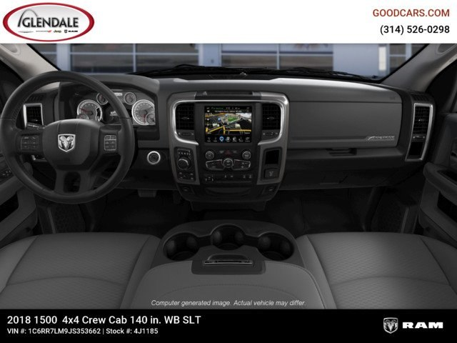 2018 Ram 1500 Crew Cab 4x4,  Pickup #4J1185 - photo 14