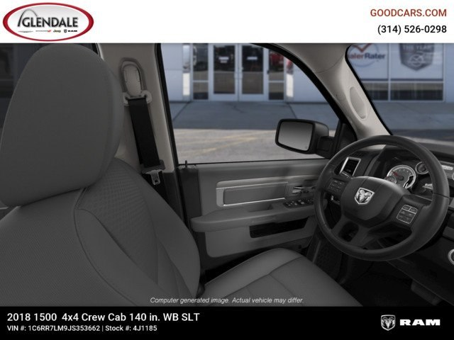 2018 Ram 1500 Crew Cab 4x4,  Pickup #4J1185 - photo 16