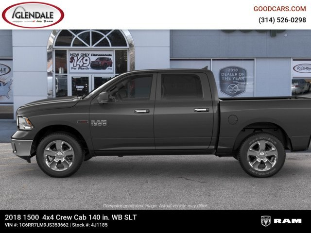 2018 Ram 1500 Crew Cab 4x4,  Pickup #4J1185 - photo 5