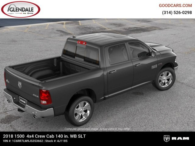 2018 Ram 1500 Crew Cab 4x4,  Pickup #4J1185 - photo 9