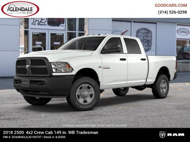 2018 Ram 2500 Crew Cab 4x2,  Pickup #4J2000 - photo 1