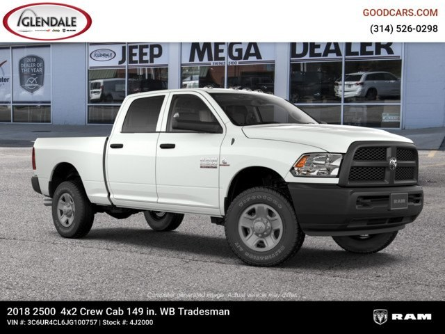 2018 Ram 2500 Crew Cab 4x2,  Pickup #4J2000 - photo 11