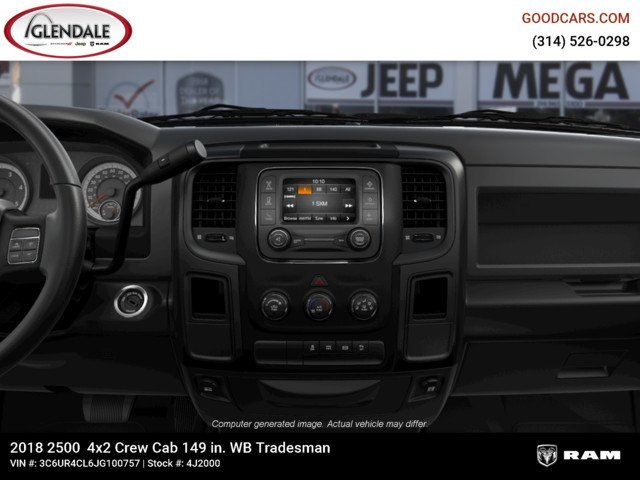 2018 Ram 2500 Crew Cab 4x2,  Pickup #4J2000 - photo 13