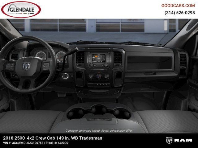 2018 Ram 2500 Crew Cab 4x2,  Pickup #4J2000 - photo 14