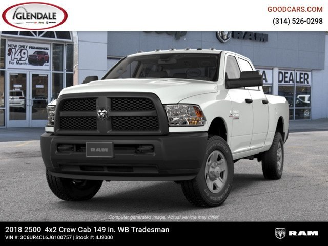 2018 Ram 2500 Crew Cab 4x2,  Pickup #4J2000 - photo 4