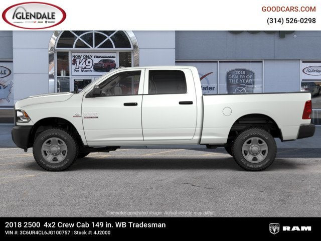 2018 Ram 2500 Crew Cab 4x2,  Pickup #4J2000 - photo 5
