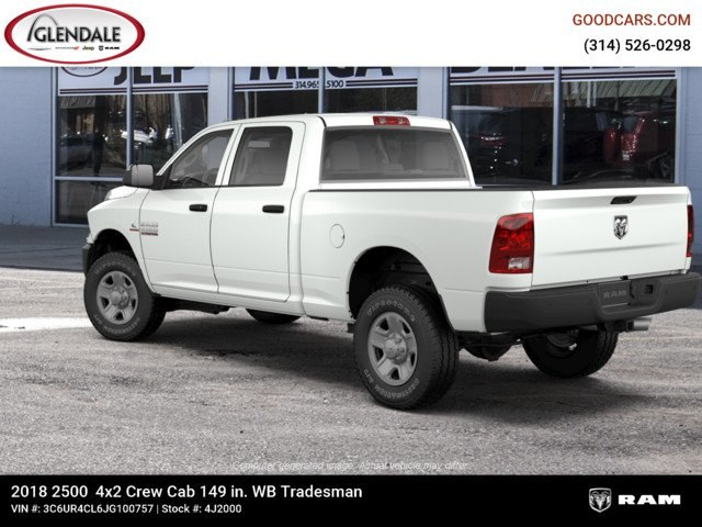 2018 Ram 2500 Crew Cab 4x2,  Pickup #4J2000 - photo 2