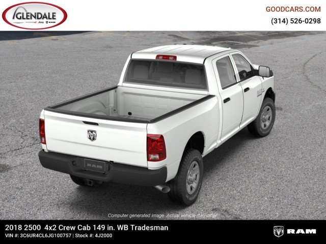 2018 Ram 2500 Crew Cab 4x2,  Pickup #4J2000 - photo 8