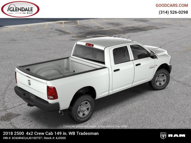 2018 Ram 2500 Crew Cab 4x2,  Pickup #4J2000 - photo 9