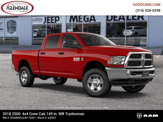 2018 Ram 2500 Crew Cab 4x4,  Pickup #4J2007 - photo 11