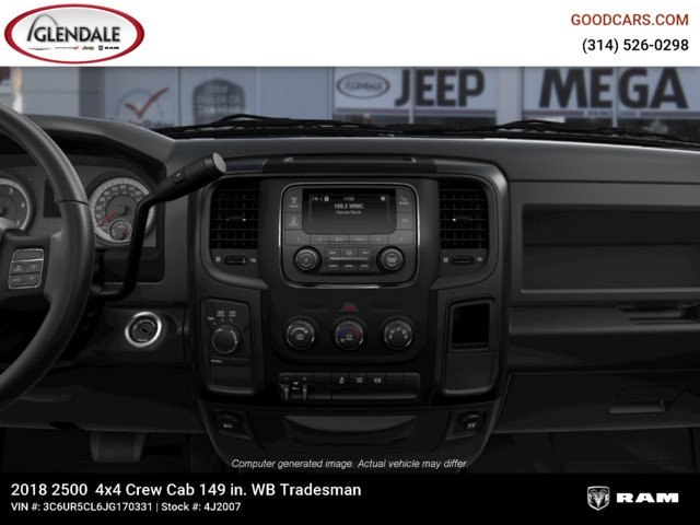 2018 Ram 2500 Crew Cab 4x4,  Pickup #4J2007 - photo 13