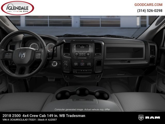 2018 Ram 2500 Crew Cab 4x4,  Pickup #4J2007 - photo 14