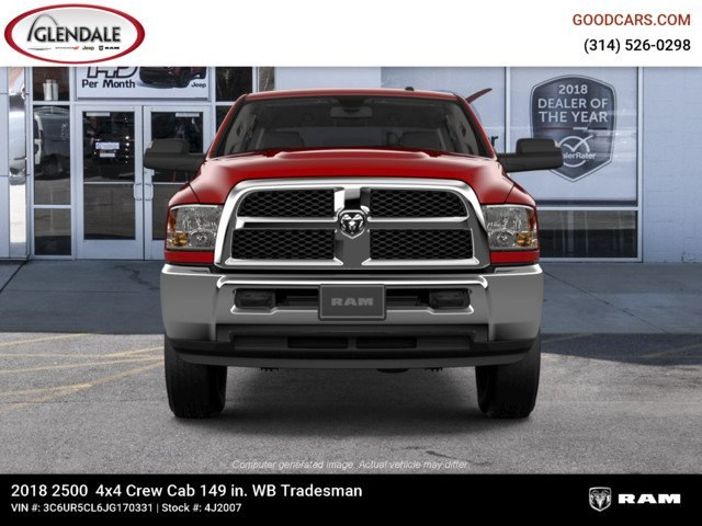 2018 Ram 2500 Crew Cab 4x4,  Pickup #4J2007 - photo 3