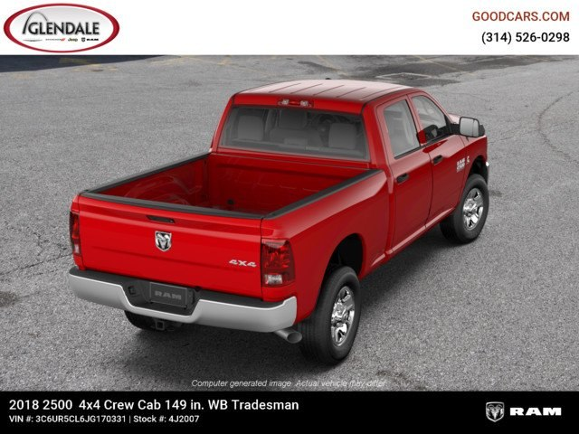 2018 Ram 2500 Crew Cab 4x4,  Pickup #4J2007 - photo 8