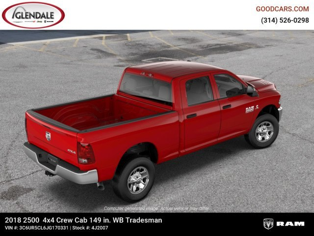 2018 Ram 2500 Crew Cab 4x4,  Pickup #4J2007 - photo 9