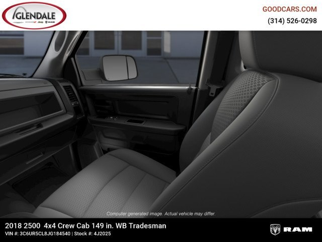 2018 Ram 2500 Crew Cab 4x4,  Pickup #4J2025 - photo 15