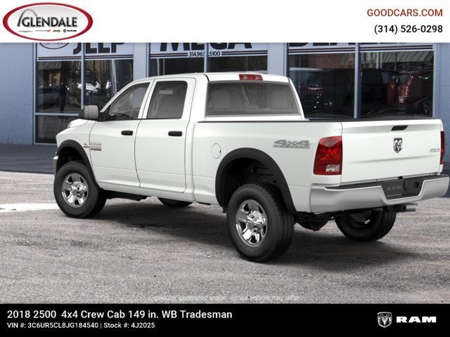 2018 Ram 2500 Crew Cab 4x4,  Pickup #4J2025 - photo 2