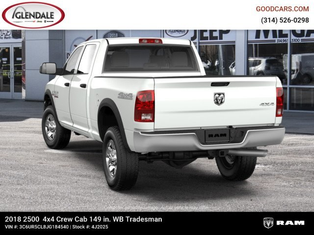 2018 Ram 2500 Crew Cab 4x4,  Pickup #4J2025 - photo 6