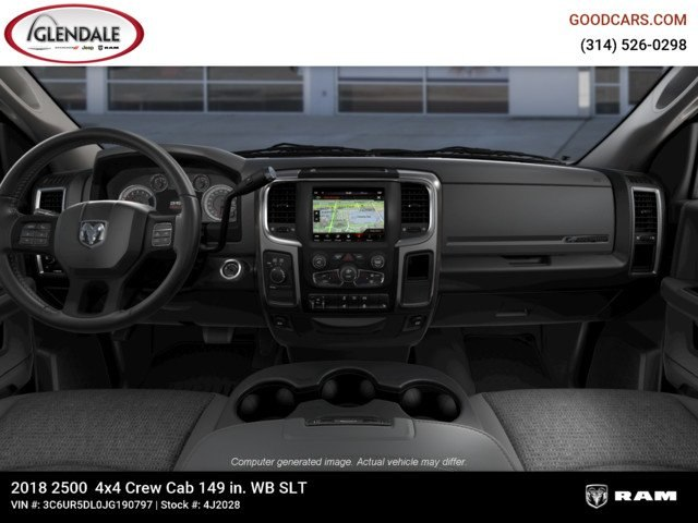 2018 Ram 2500 Crew Cab 4x4,  Pickup #4J2028 - photo 14
