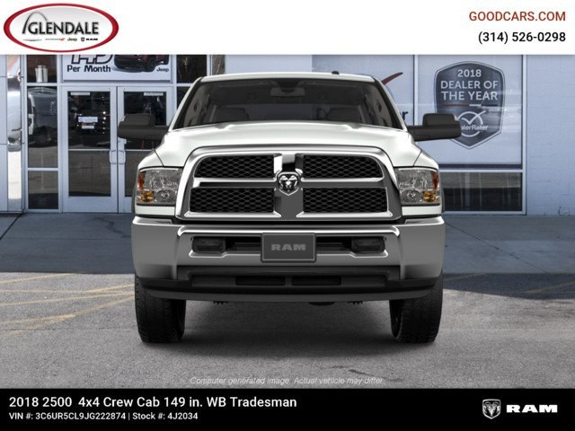 2018 Ram 2500 Crew Cab 4x4,  Pickup #4J2034 - photo 3