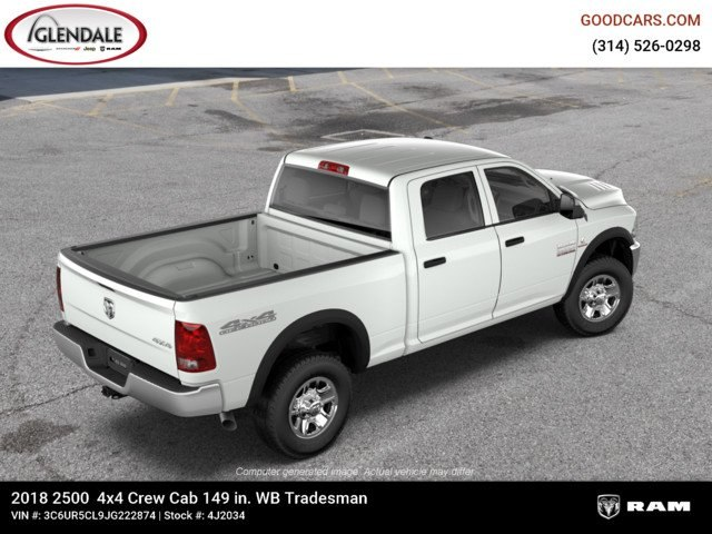 2018 Ram 2500 Crew Cab 4x4,  Pickup #4J2034 - photo 9