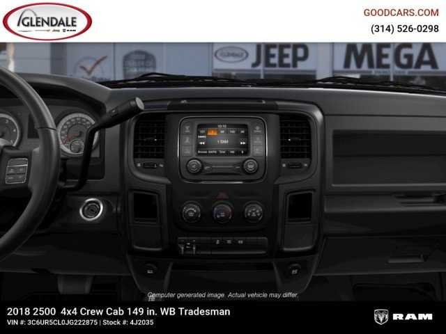 2018 Ram 2500 Crew Cab 4x4,  Pickup #4J2035 - photo 13