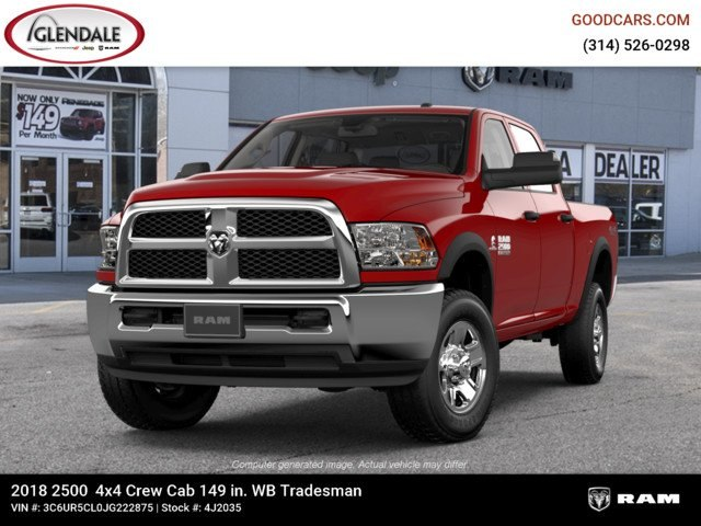 2018 Ram 2500 Crew Cab 4x4,  Pickup #4J2035 - photo 4