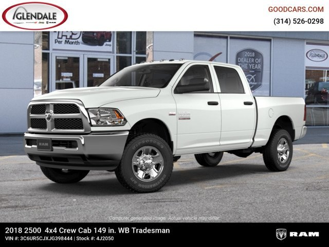 2018 Ram 2500 Crew Cab 4x4,  Pickup #4J2050 - photo 1