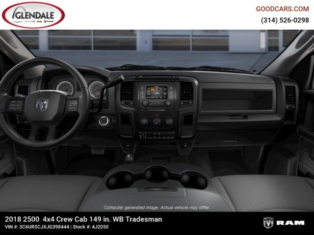 2018 Ram 2500 Crew Cab 4x4,  Pickup #4J2050 - photo 14