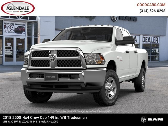 2018 Ram 2500 Crew Cab 4x4,  Pickup #4J2050 - photo 4