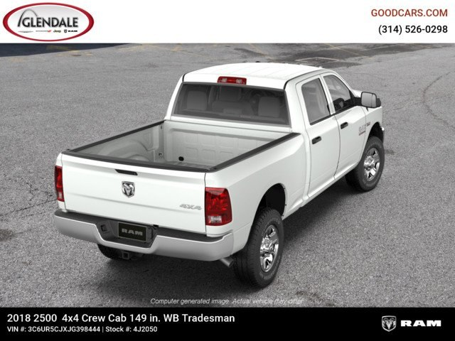 2018 Ram 2500 Crew Cab 4x4,  Pickup #4J2050 - photo 8
