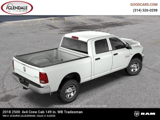 2018 Ram 2500 Crew Cab 4x4,  Pickup #4J2050 - photo 9