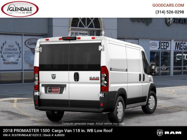 2018 ProMaster 1500 Standard Roof FWD,  Empty Cargo Van #4J8000 - photo 7