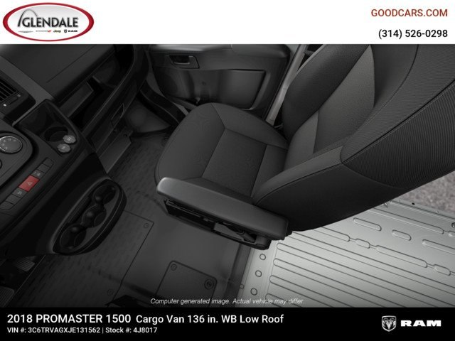 2018 ProMaster 1500 Standard Roof 4x2,  Empty Cargo Van #4J8017 - photo 13
