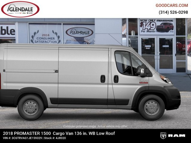 2018 ProMaster 1500 Standard Roof FWD,  Empty Cargo Van #4J8020 - photo 11
