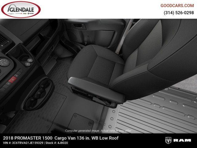 2018 ProMaster 1500 Standard Roof FWD,  Empty Cargo Van #4J8020 - photo 18
